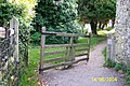 Tapsell gate in the churchyard of St. Andrew's Church, Jevington - geograph.org.uk - 57814.jpg