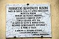 Targa dedicata a Ferruccio Busoni, Empoli.JPG