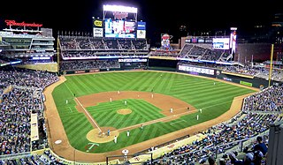 Target Field baseball stadium in Minneapolis, Minnesota