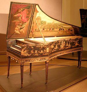Museum für Kunst und Gewerbe Hamburg - Taskin harpsichord, 1788.