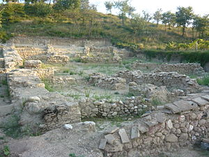 Tauresium - Remains of the ancient town of Tauresium