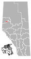 Teepee Creek, Alberta Location.png