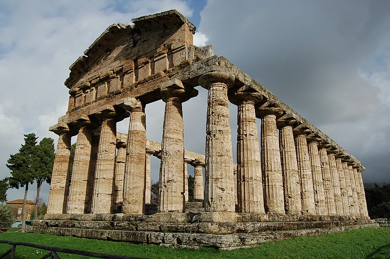 File:Temple of Athena at Paestum.jpg