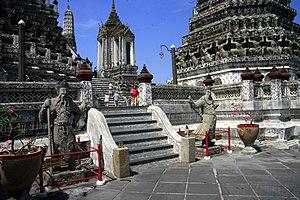 English: Temple of Dawn (Wat Arun), Bangkok, T...