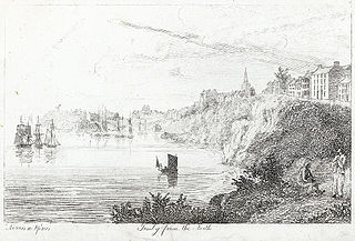 Tenby from the north