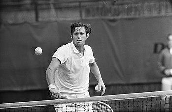 Tennis Amsterdam Roy Emerson in aktie, Bestanddeelnr 922-4531.jpg