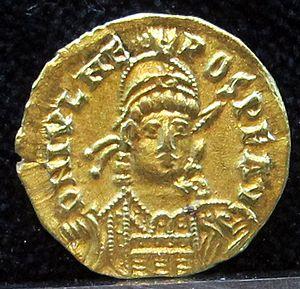 Julius Nepos - Solidus of Emperor Julius Nepos; mint at Ravenna, 474-5