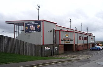 Crown Flatt - Image: Tetley stadium