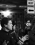 Texas Governor Rick Perry's Campaign Stop at Skeeter's Mesquite Grill, Kingwood, Texas 103110164604BW (5141009907).jpg