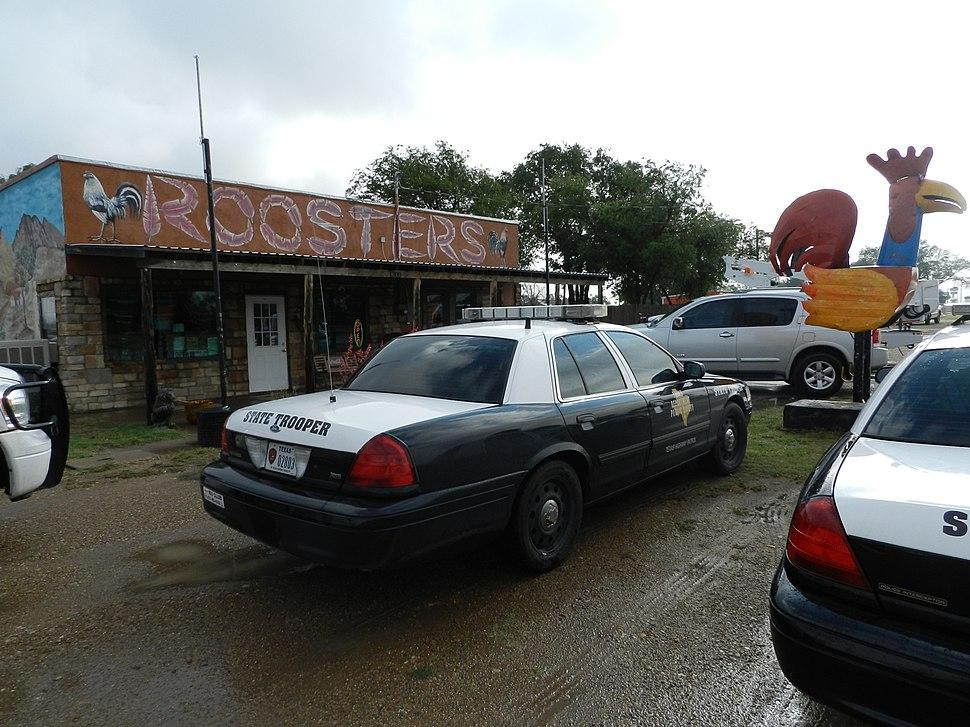 Texas Highway Patrol Ford CVPI 02803