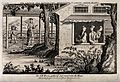 Textiles; silk manufacture in China, gathering the eggs. Eng Wellcome V0024216.jpg