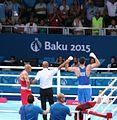 Teymur Mammadov vs Valentino Manfredonia at the 2015 European Games (Final) 5.jpg