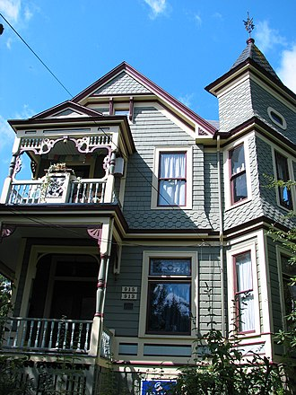 Sunnyside, Portland, Oregon - Image: Thaddeus Fisher House Portland Oregon