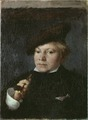 The Artist Carl Skånberg, 1878 (Carl Larsson) - Nationalmuseum - 18775.tif