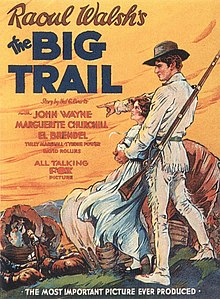 The Big Trail (1930 film poster).jpg