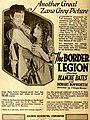 The Border Legion (1918) - Ad 2.jpg