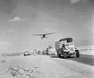 Battle of Mersa Matruh - British Army retreating from the Gazala position