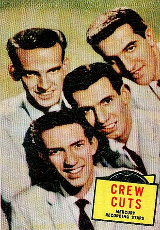 The Crew-Cuts - The group in 1957