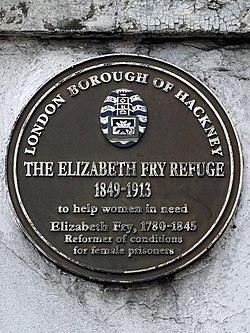 The elizabeth fry refuge 1849 1913 to help women in need. elizabeth fry 1780 1845 reformer of conditions for female prisoners