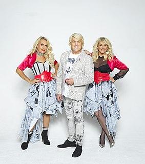 The Fizz British pop music group