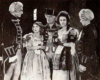 Sydney Deane - Sydney Deane (center) in The Last of the Mohicans (1920)