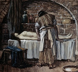 The Levite Before the Corpse of His Wife
