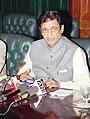 The Minister of State for External Affairs Shri E. Ahammed addressing the Press in New Delhi on June 11, 2004.jpg