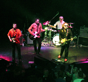 The Minus 5 - The Minus 5 (left to right: Ramberg, Buck, Rieflin, McCaughey) perform at the Georgia Theatre in Athens, Georgia on April 1, 2006