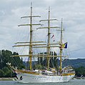 The Mircea on the last day of the Rouen Armada 2019, on the River Seine from Rouen to Le Havre ... (48090865622).jpg