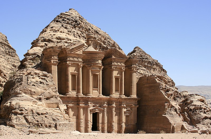 File:The Monastery, Petra, Jordan8.jpg