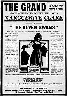 <i>The Seven Swans</i> 1917 film by J. Searle Dawley