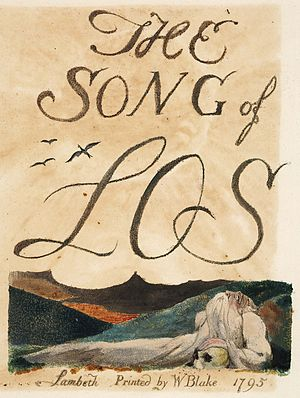 The Song of Los - Image: The Song of Los copy 1795 object 2 Henry E Huntington Library and Art Gallery
