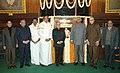 The Speaker, Lok Sabha, Shri Somnath Chatterjee, the Leader of Opposition in Lok Sabha, Shri. L. K. Advani, the Union Minister of External Affairs, Shri Pranab Mukherjee, the Union Finance Minister, Shri P Chidambaram.jpg