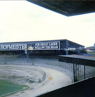Eastville Stadium - The Tote End in 1986