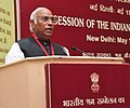 The Union Minister for Labour and Employment, Shri Mallikarjun Kharge addressing at the special session of the 45th Indian Labour Conference, in New Delhi on May 18, 2013.jpg