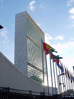Headquarters of United Nations at New York, United States