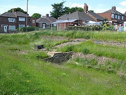 The Vallum crossing at Benwell Fort - geograph.org.uk - 837826.jpg