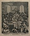 The dissection of the body of Tom Nero. Etching by W. Hogart Wellcome V0049211.jpg