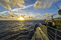 The guided missile cruiser USS Monterey (CG 61) travels in the Atlantic Ocean Jan. 2, 2014 140102-N-QL471-164.jpg