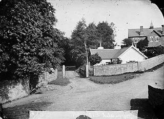 The lodge, Dyffryn Aled