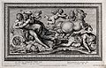 The rape of Cephalus. Etching by P. Aquila after G. Rossi af Wellcome V0035981.jpg