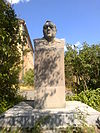 The statue of Armenak Mnjoyan in the courtyard of the Institute of the Organic Chemisrty 07.jpg