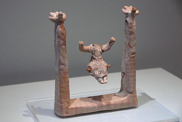 Hagia Triada swing figurine