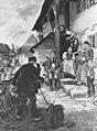Theodor Schmidt - Paul Sinner beim Fotografieren in Betzingen 1892.jpg