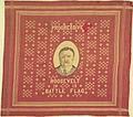 "Theodore Roosevelt ""Progressive Battle Flag"" Portrait Textile, 1912 (4359254281).jpg"
