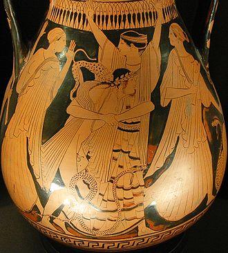 Peleus - Image: Thetis Peleus Louvre G373