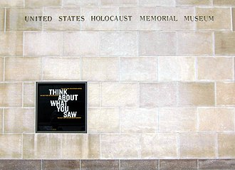 United States Holocaust Memorial Museum - Exterior of the museum's entrance