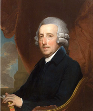 Thomas Dawes - Portrait of Dawes by Gilbert Stuart, ca. 1806