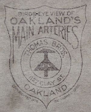 Thomas Guide - Thomas Bros. 1925 Logo