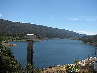 Thomson Dam dam in West Gippsland, Victoria